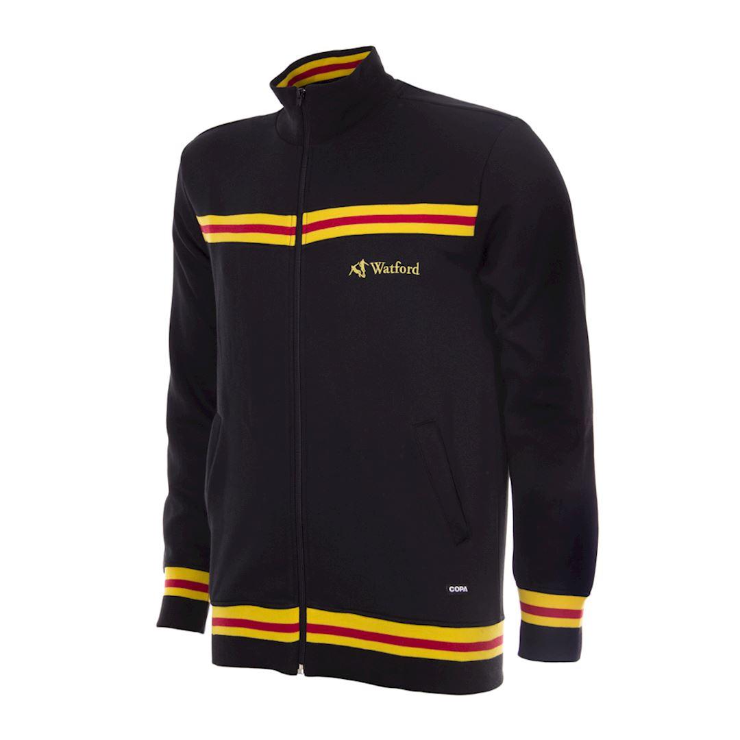 Watford FC 1986 Retro Football Jacket   1   COPA