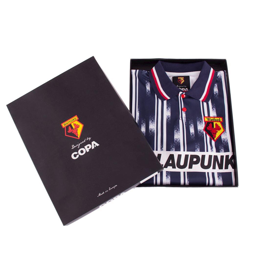 Watford FC 1993 - 95 Away Retro Football Shirt | 7 | COPA