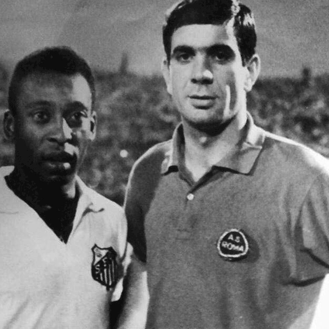AS Roma 1961 - 62 Retro Football Shirt   2   COPA