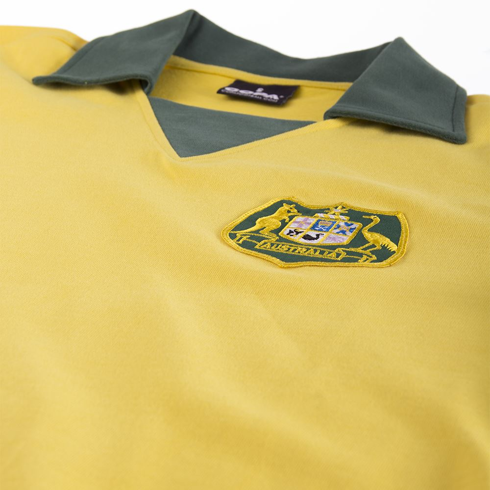 Australië World Cup 1974 Retro Voetbal Shirt | 5 | COPA
