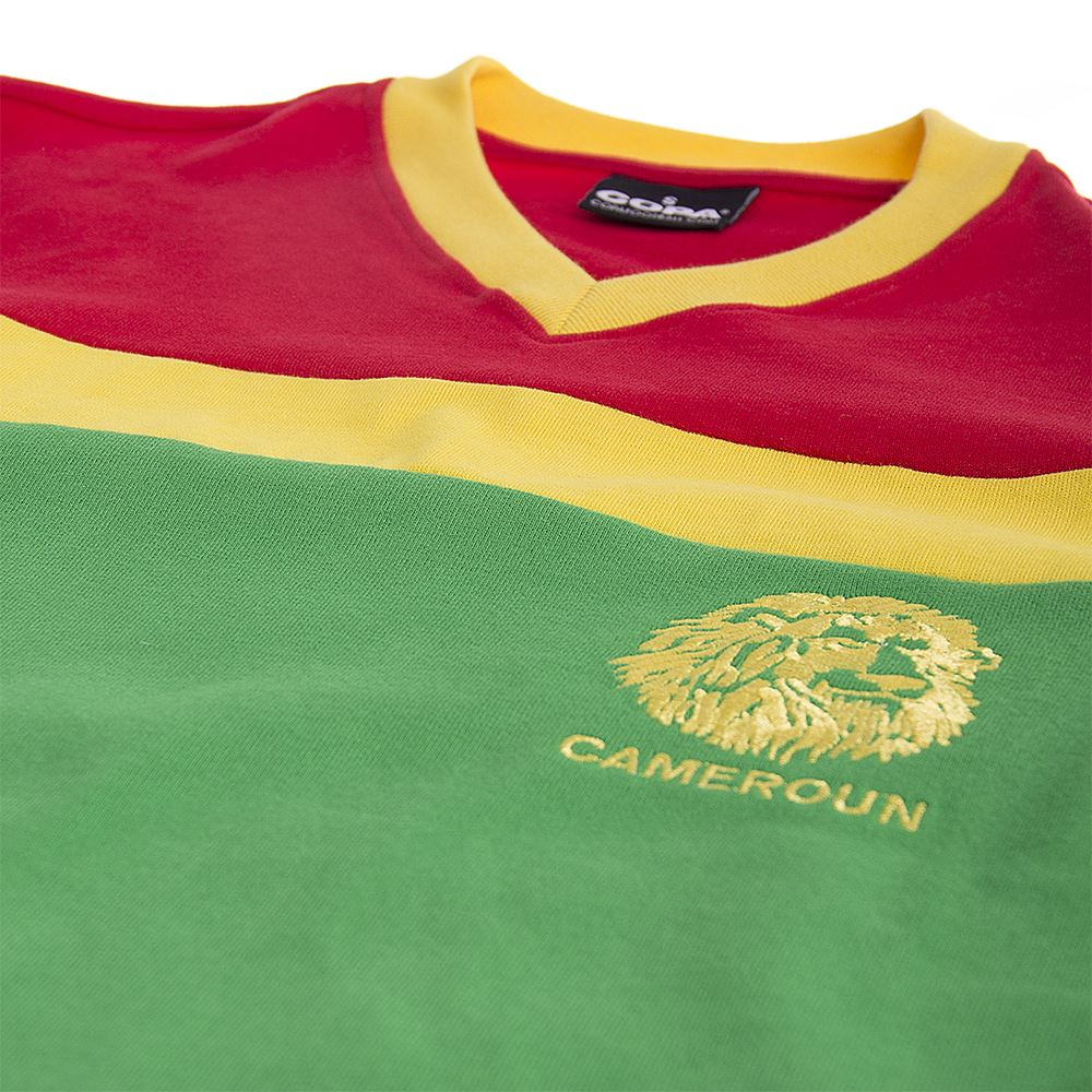 Kameroen 1989 Retro Voetbal Shirt | 5 | COPA