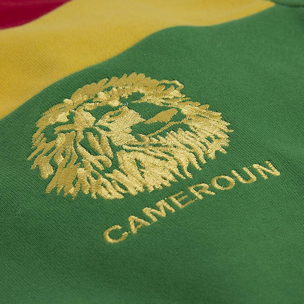 Kameroen 1989 Retro Voetbal Shirt | 3 | COPA