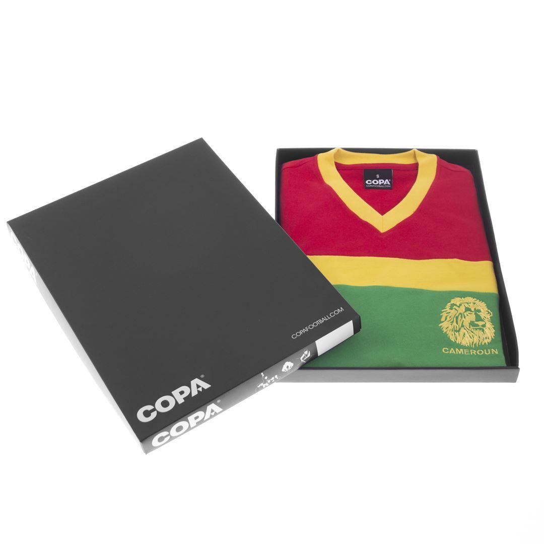 Kameroen 1989 Retro Voetbal Shirt | 6 | COPA