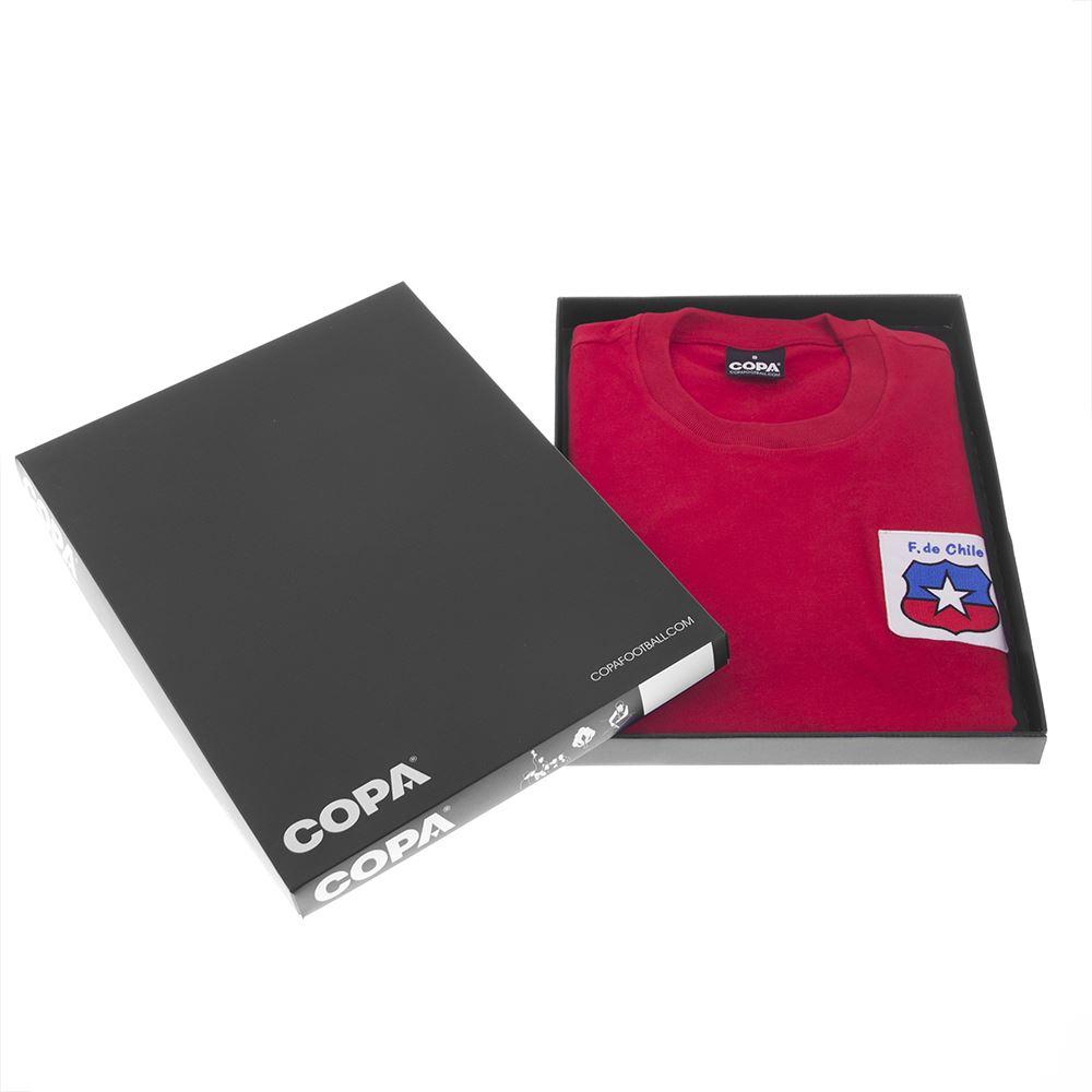 Chile World Cup 1974 Retro Football Shirt | 6 | COPA