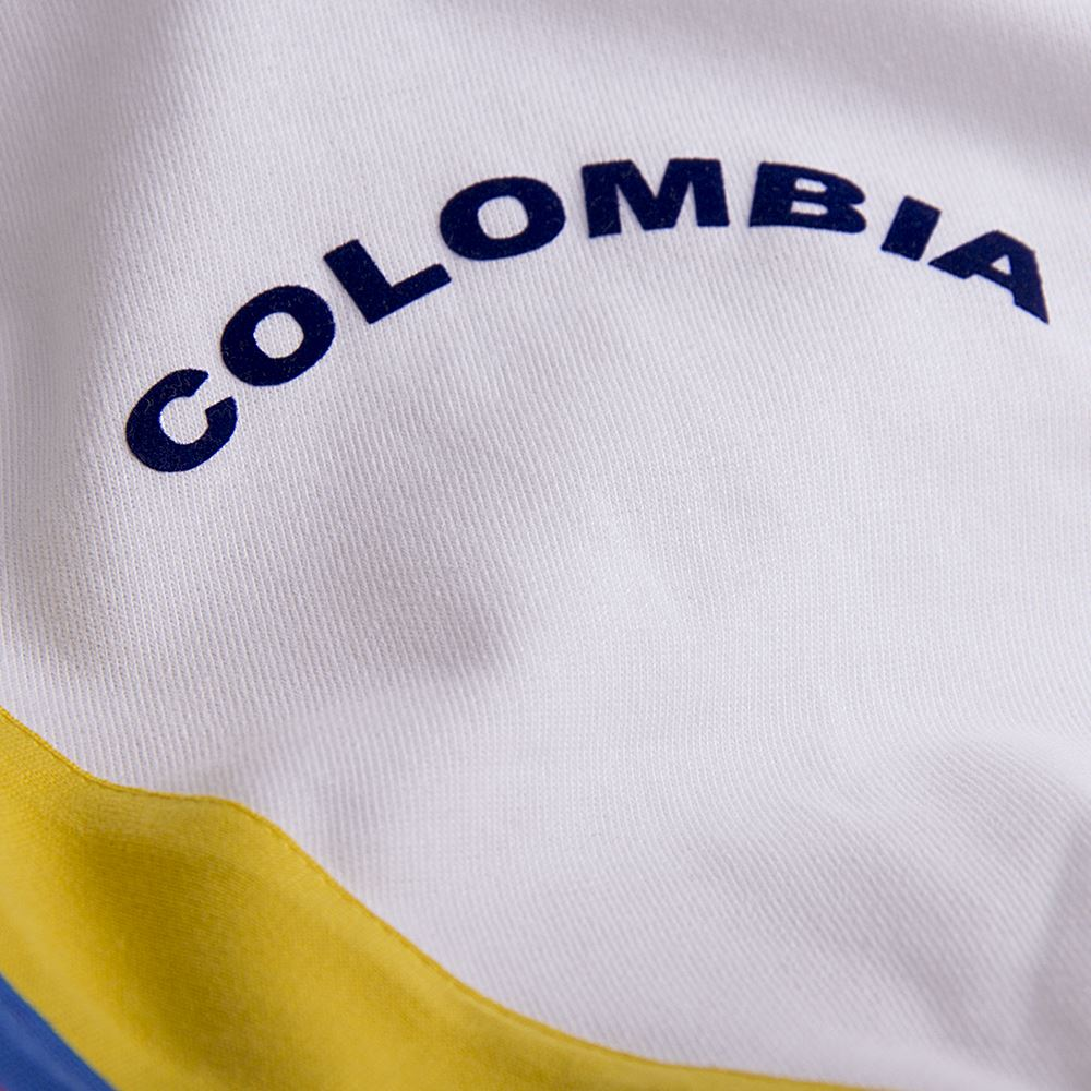 Colombia 1973 Retro Voetbal Shirt | 3 | COPA