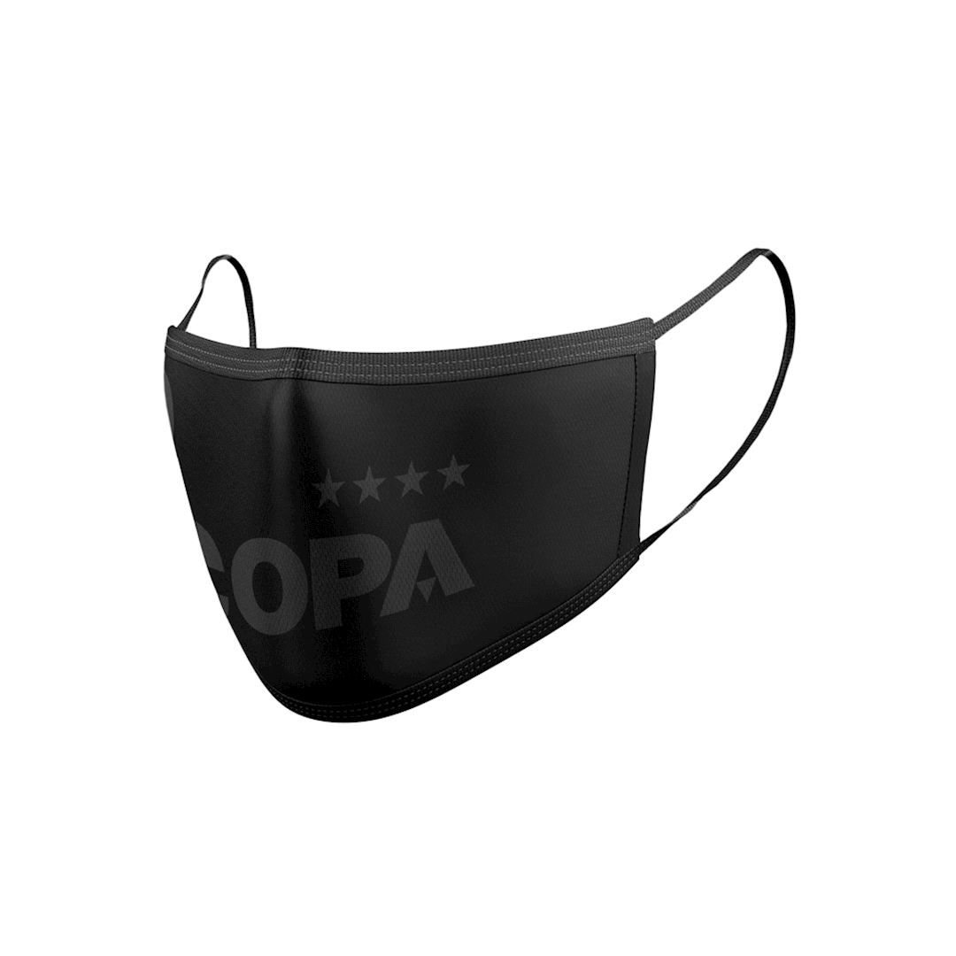 COPA All Black Certified Face Mask | 2 | COPA