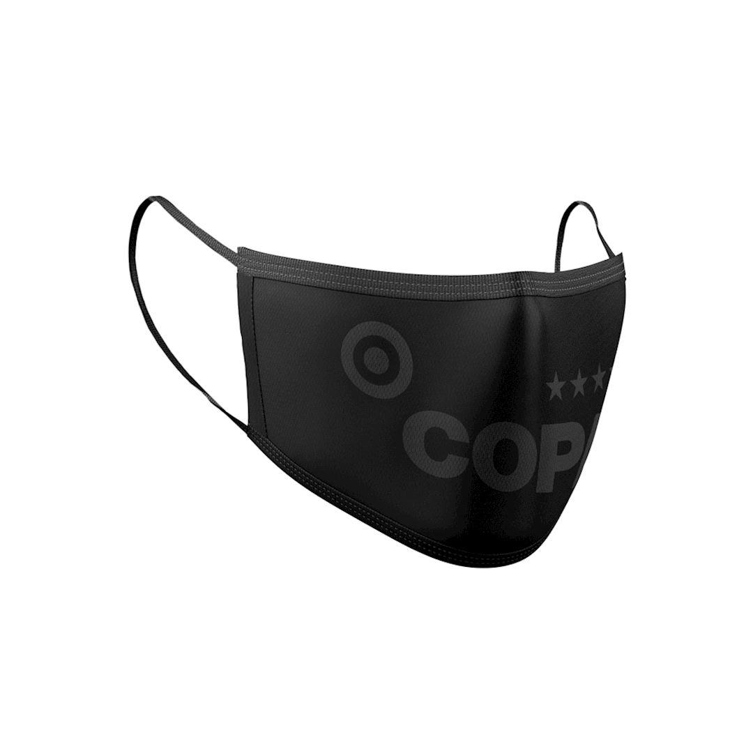 COPA All Black Face Masque Certifié | 3 | COPA