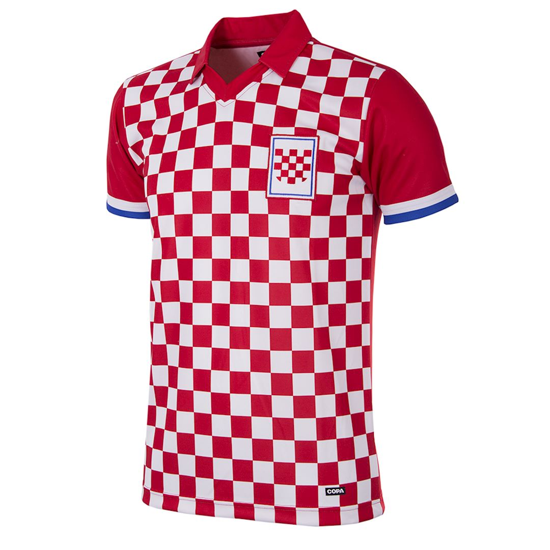 Croatia 1992 Retro Football Shirt | 1 | COPA
