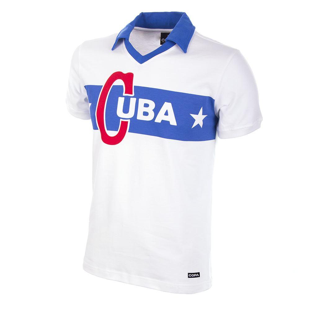 Cuba 1962 Castro Retro Football Shirt   1   COPA