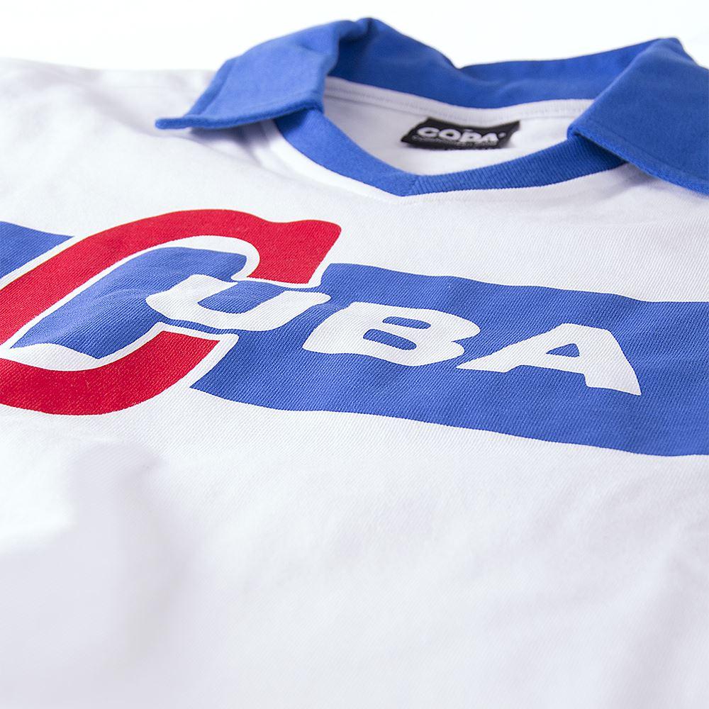 Cuba 1962 Castro Retro Football Shirt   5   COPA