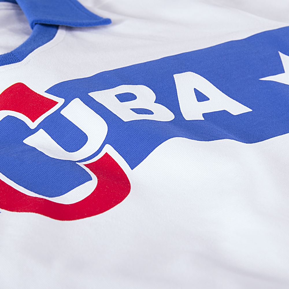 Cuba 1962 Castro Retro Football Shirt   3   COPA