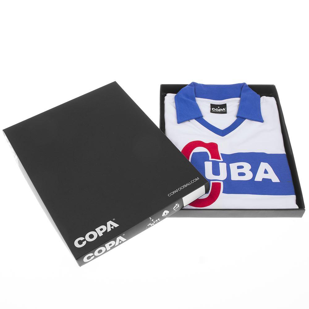 Cuba 1962 Castro Retro Football Shirt   6   COPA