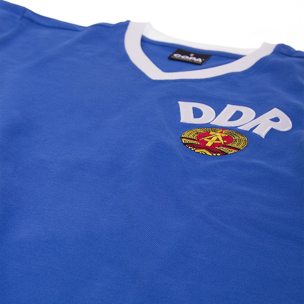 DDR World Cup 1974 Retro Voetbal Shirt | 5 | COPA