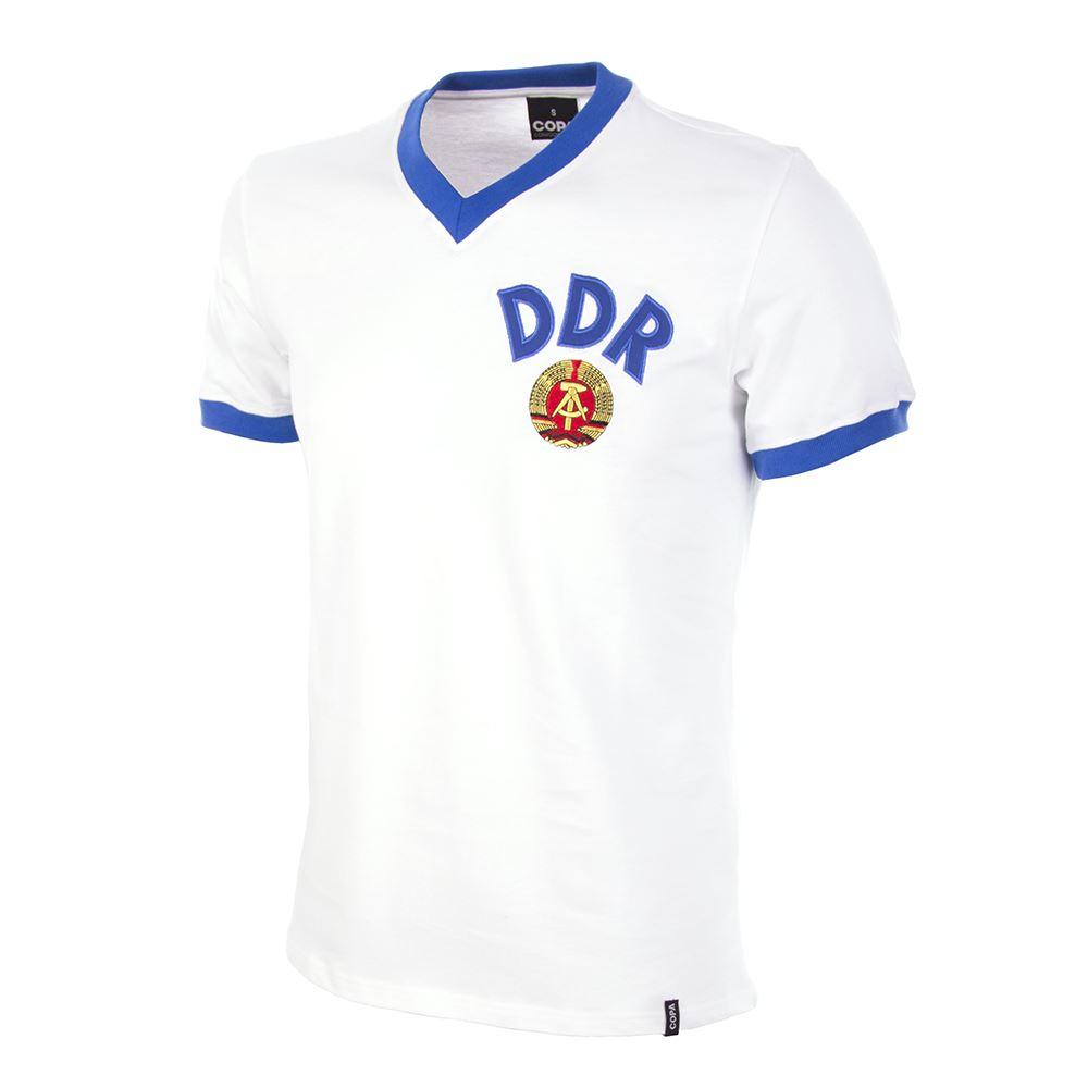 Shop DDR Away World Cup 1974 Short Sleeve Retro Football Shirt  23d75cf10560