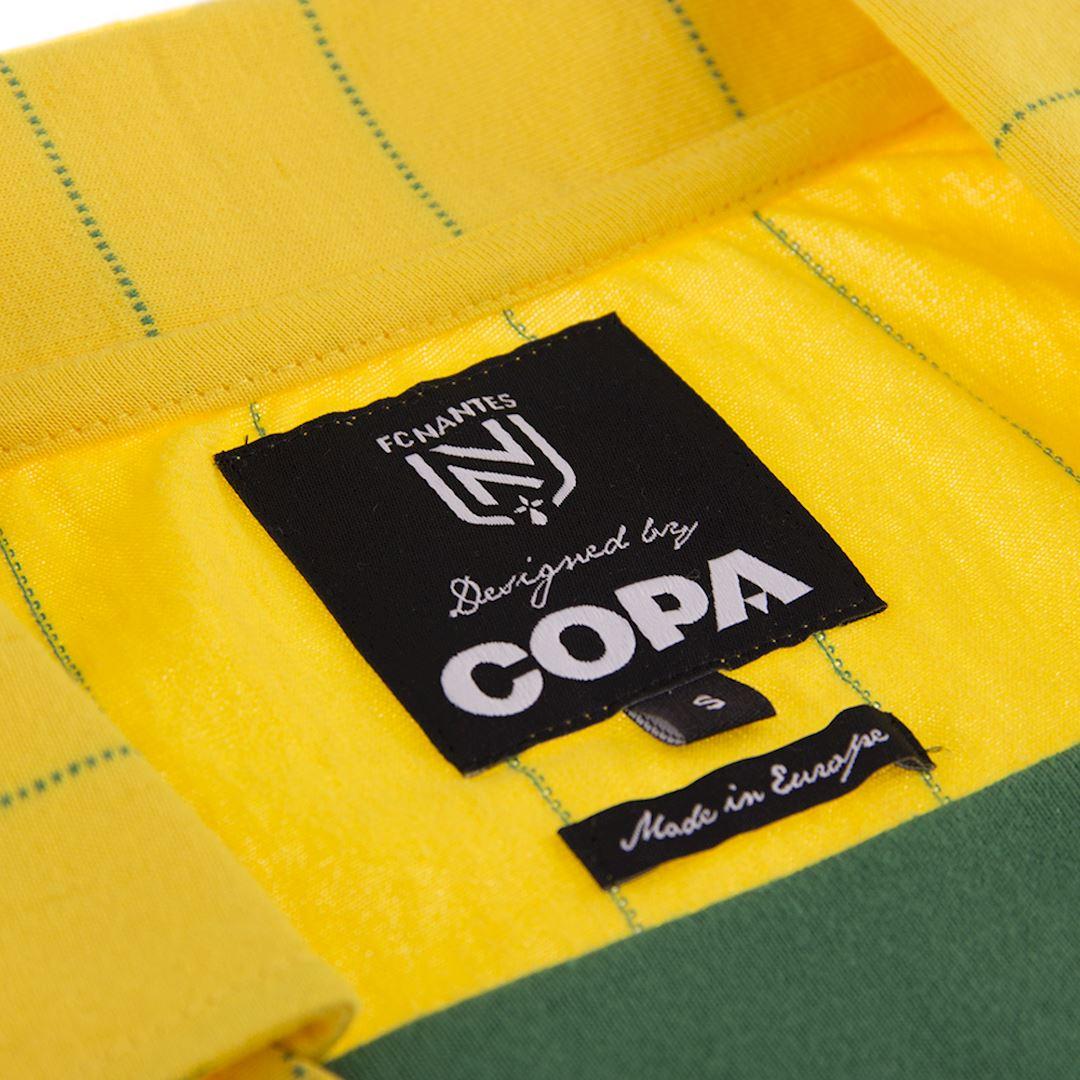 FC Nantes 1982 - 83 Retro Football Shirt | 5 | COPA