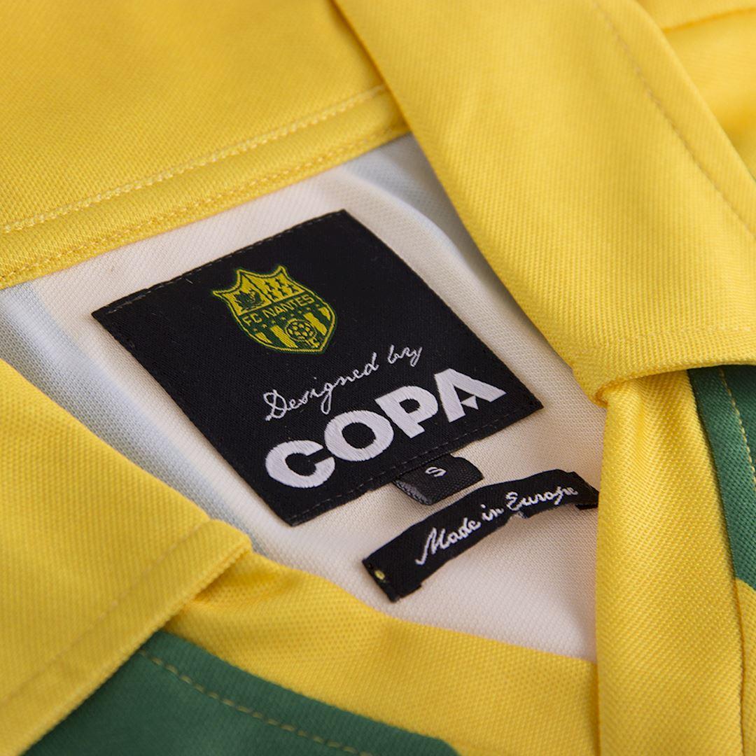 FC Nantes 1994 - 95 Retro Football Shirt | 6 | COPA