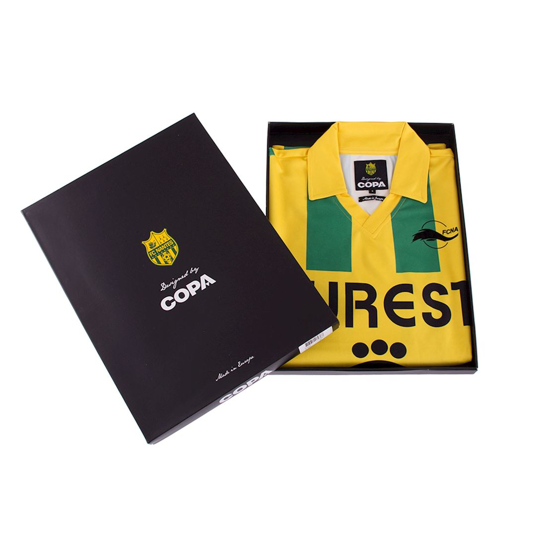 FC Nantes 1994 - 95 Retro Football Shirt | 7 | COPA