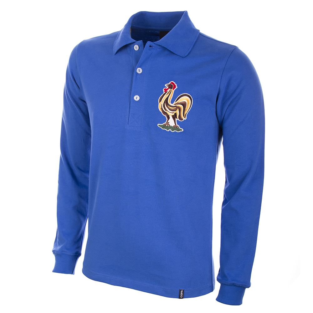 Frankrijk 1950's Retro Voetbal Shirt | 1 | COPA