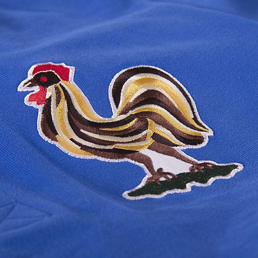 Frankrijk 1950's Retro Voetbal Shirt | 3 | COPA