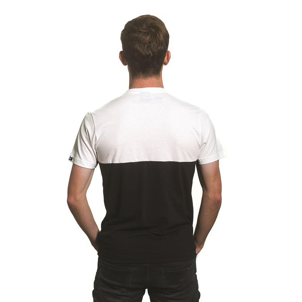 Shop germany pocket v neck t shirt white black 6646 for V neck t shirt online shopping