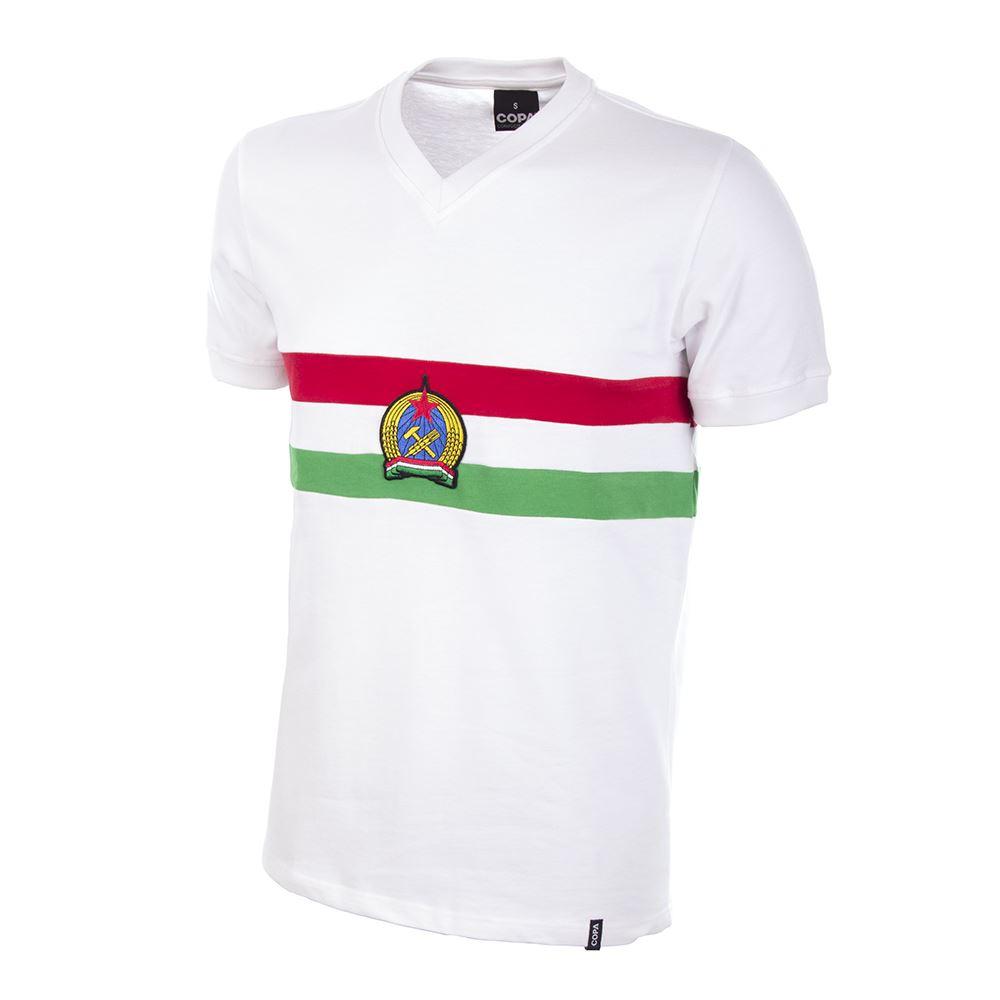 eb30a953e Shop Hungary Away 1950 s Short Sleeve Retro Football Shirt