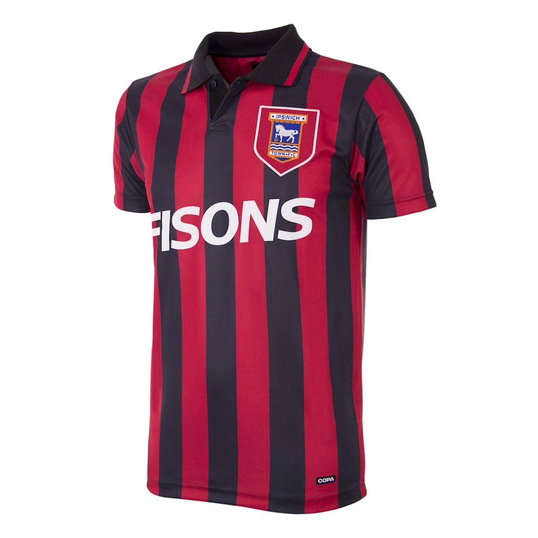 Ipswich Town FC 1991 - 92 Retro Voetbal Shirt | 1 | COPA