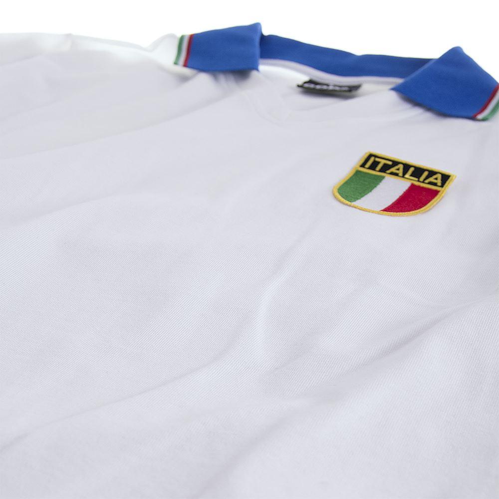 Italy Away World Cup 1982 Retro Football Shirt | 4 | COPA