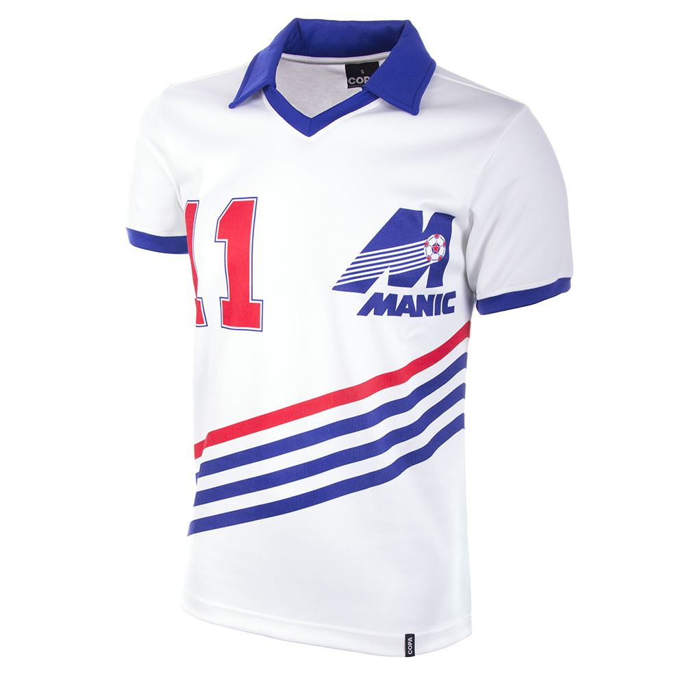 Montreal Manic 1981 Retro Football Shirt   1   COPA