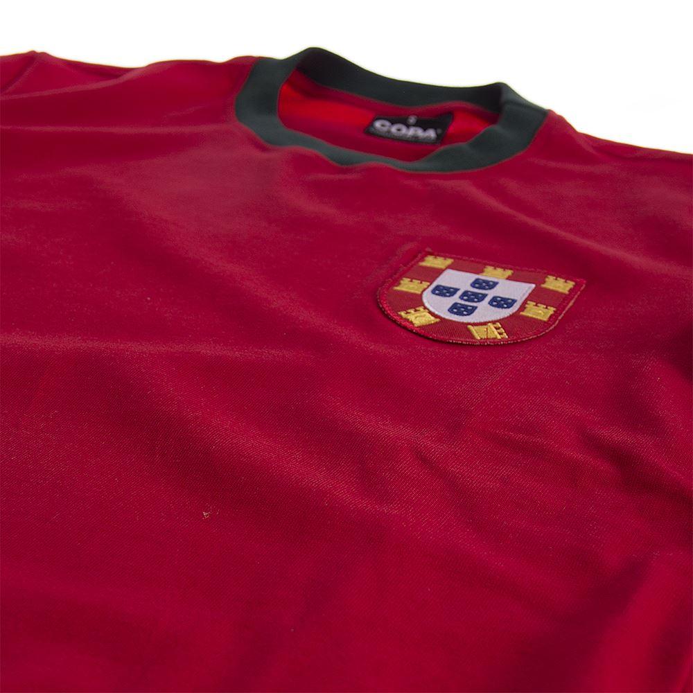 Portugal 1960's Retro Football Shirt | 5 | COPA