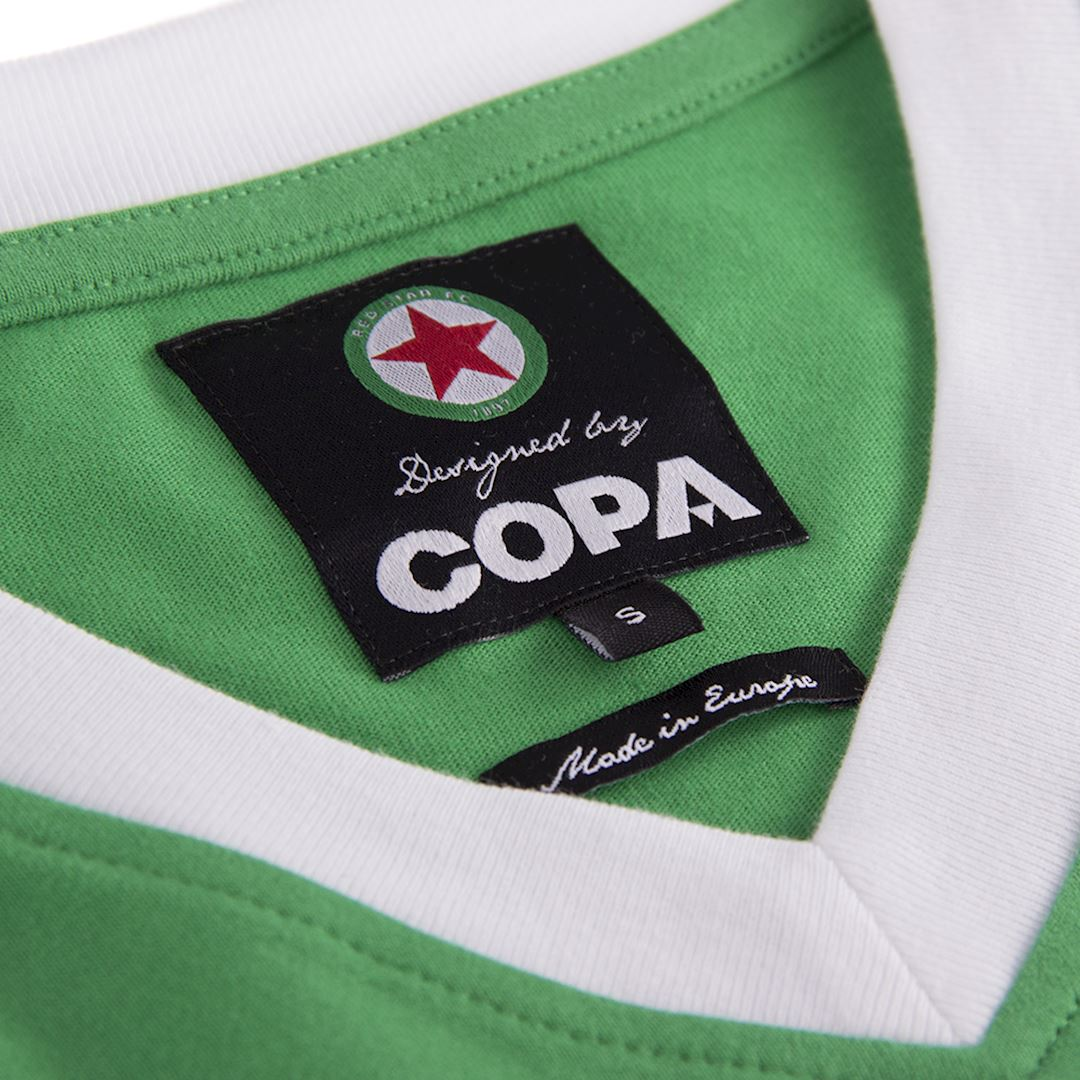 Red Star F.C. 1970's Retro Football Shirt | 5 | COPA