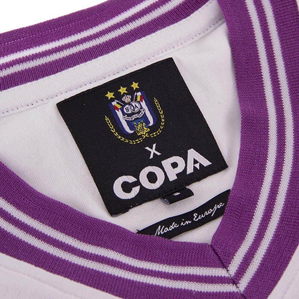 RSC Anderlecht 1973 - 74 Away Retro Football Shirt | 5 | COPA