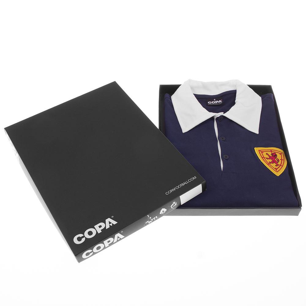 Scotland 1950's Retro Football Shirt | 6 | COPA