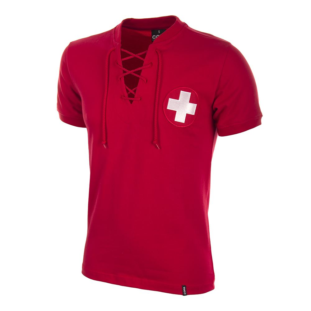 Zwitserland World Cup 1954 Retro Voetbal Shirt | 1 | COPA