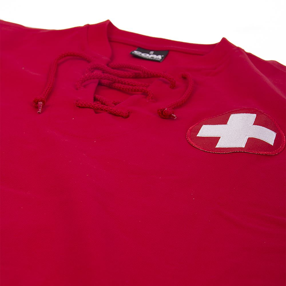 Zwitserland World Cup 1954 Retro Voetbal Shirt | 5 | COPA
