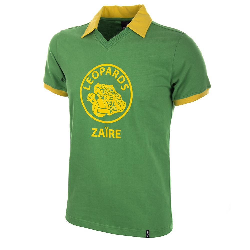 Zaire World Cup 1974 Retro Voetbal Shirt   1   COPA