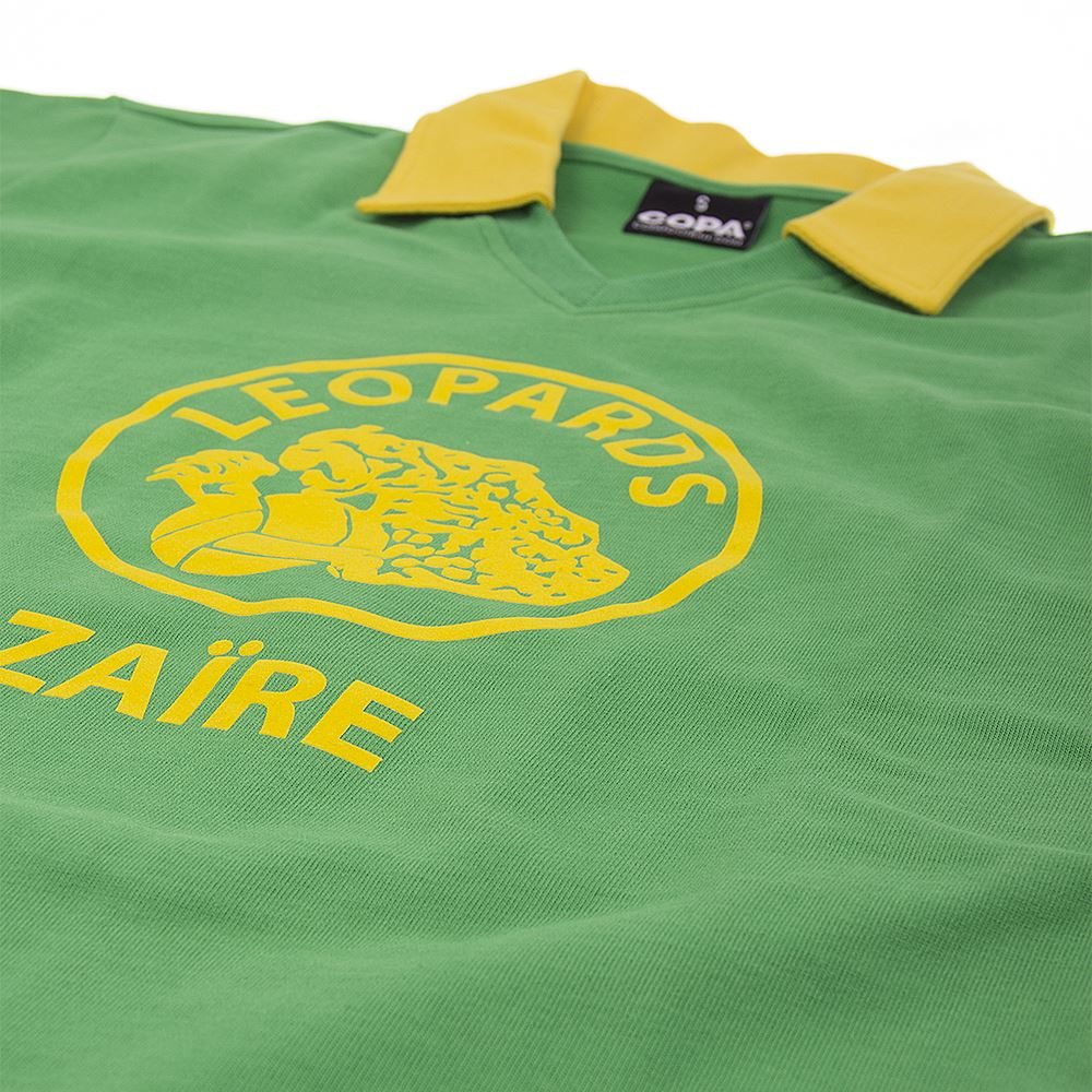 Zaire World Cup 1974 Retro Voetbal Shirt   5   COPA