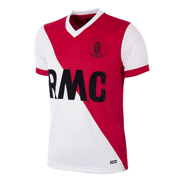 288 | AS Monaco 1982 - 84 Retro Football Shirt | 1 | COPA