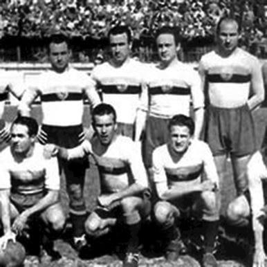 732 | AS Roma 1944 - 45 Retro Football Shirt | 2 | COPA