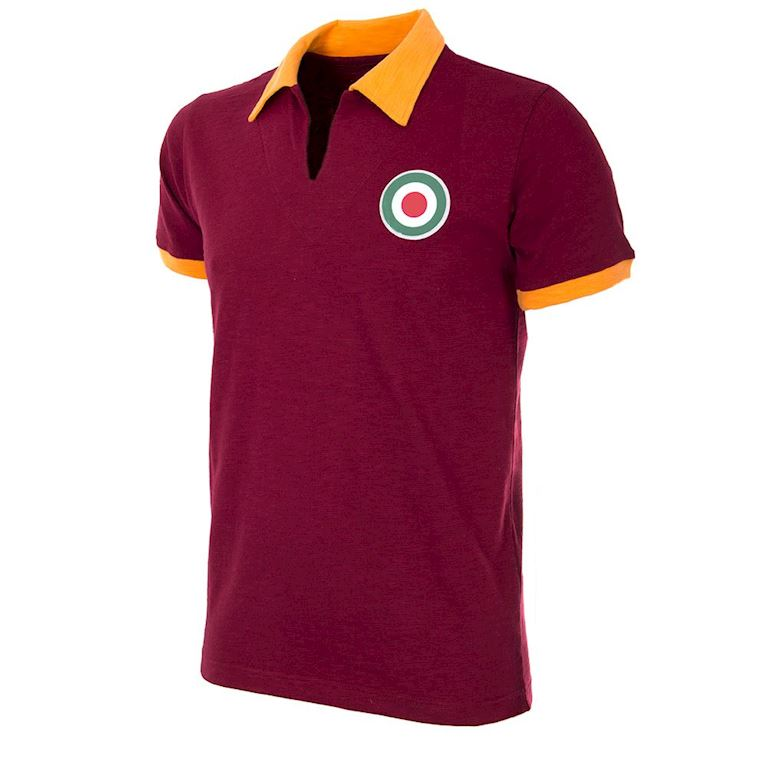730 | AS Roma 1964 - 65 Short Sleeve Retro Football Shirt | 1 | COPA