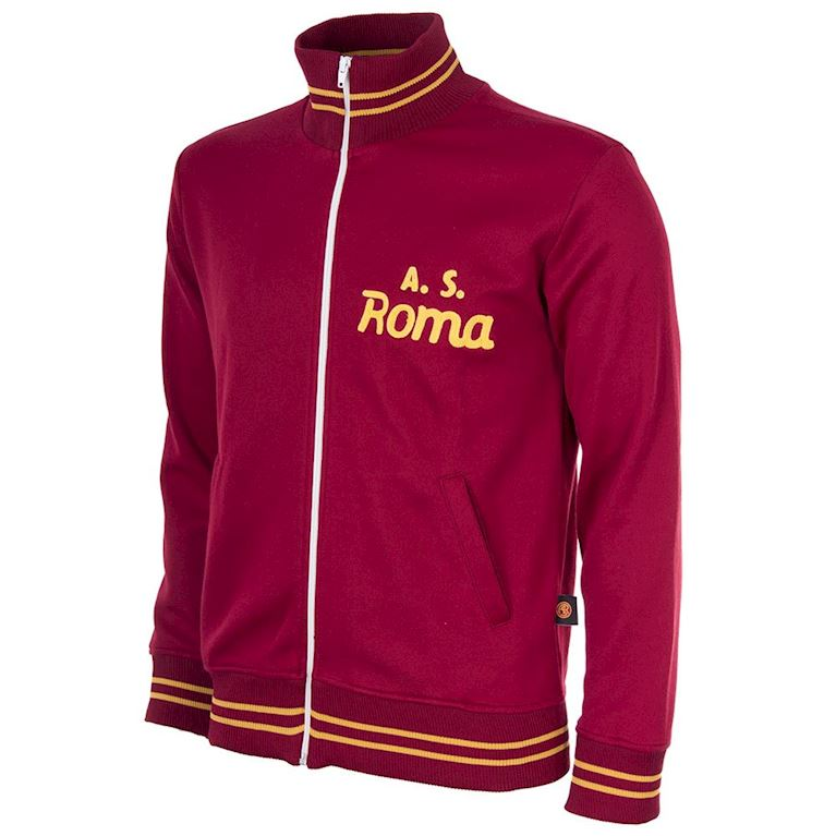 880 | AS Roma 1974 - 75 Veste de Foot Rétro | 1 | COPA