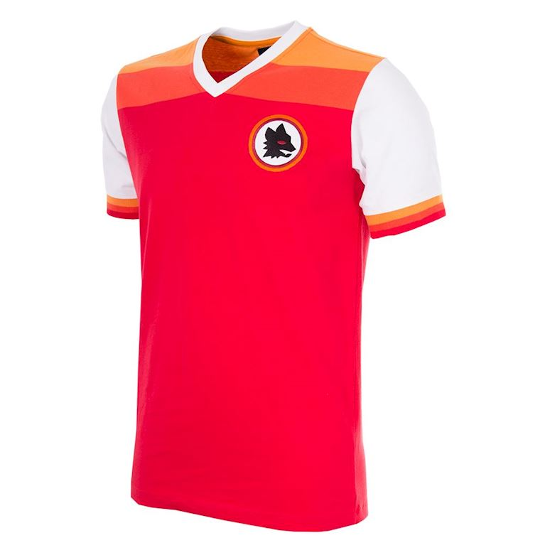 708 | AS Roma 1978-79 Maillot de Foot Rétro | 1 | COPA