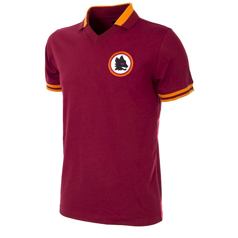 733 | AS Roma 1978 - 79 Maillot de Foot Rétro | 1 | COPA