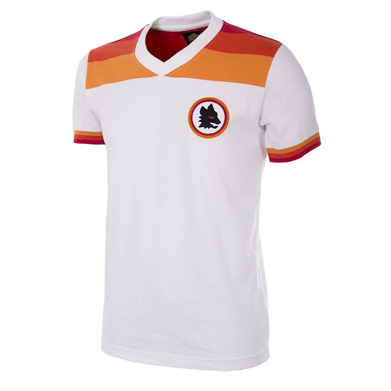 738 | AS Roma 1978 - 79 Away Maillot de Foot Rétro | 1 | COPA