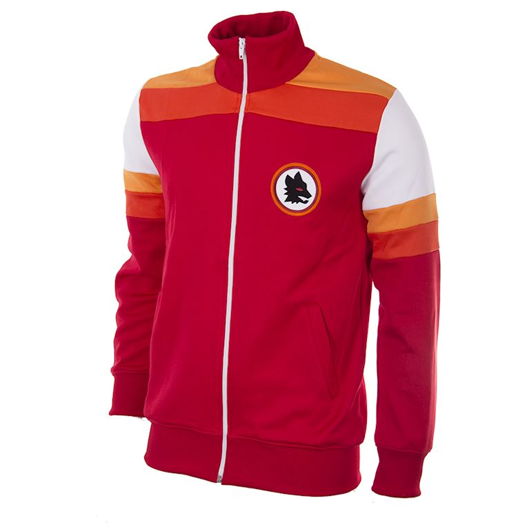 897 | AS Roma 1979 - 80 Retro Football Jacket | 1 | COPA
