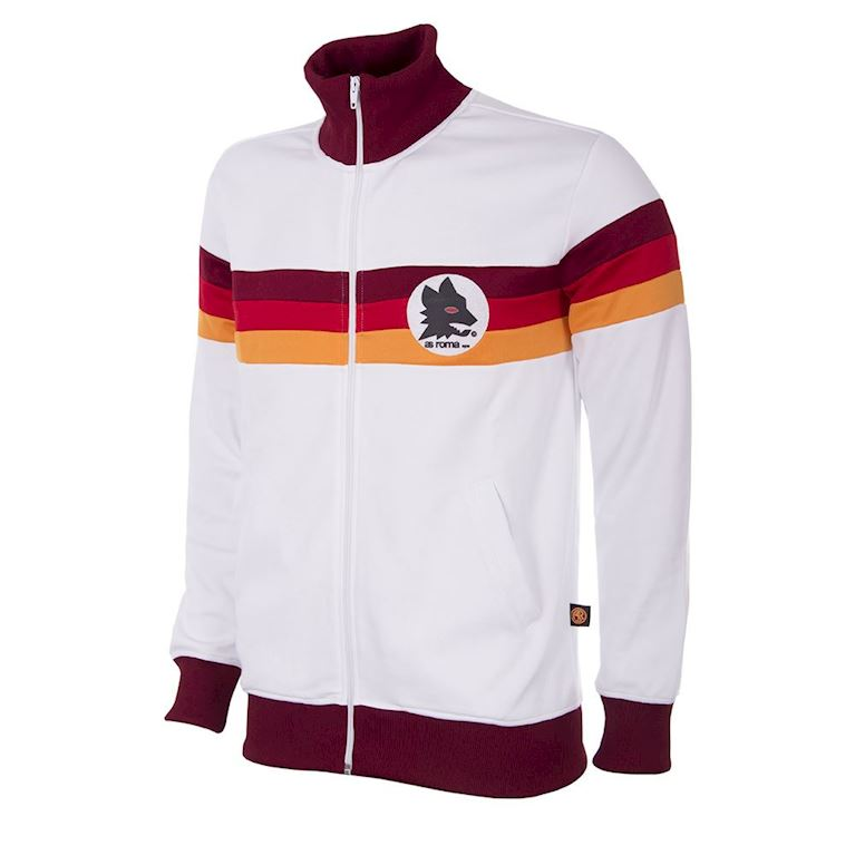 886 | AS Roma 1981 - 82 Veste de Foot Rétro | 1 | COPA