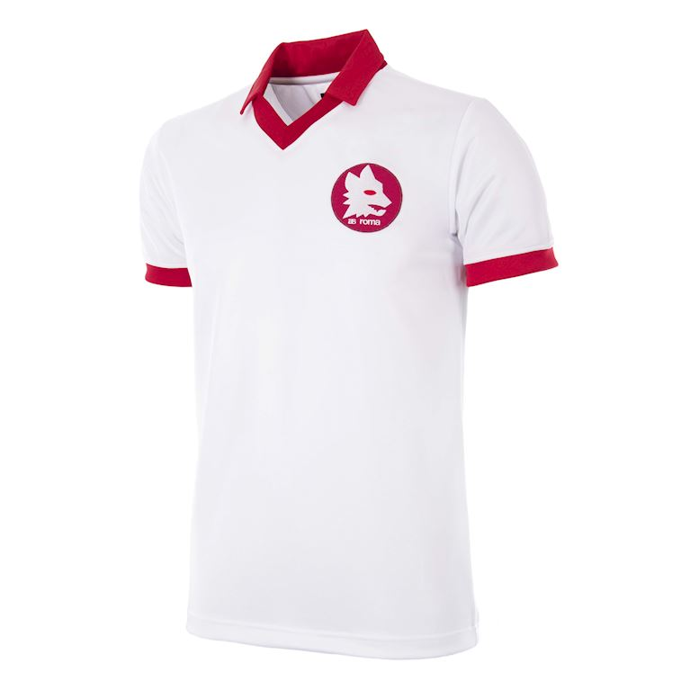 302 | AS Roma 1984 European Cup Final Maillot de Foot Rétro | 1 | COPA