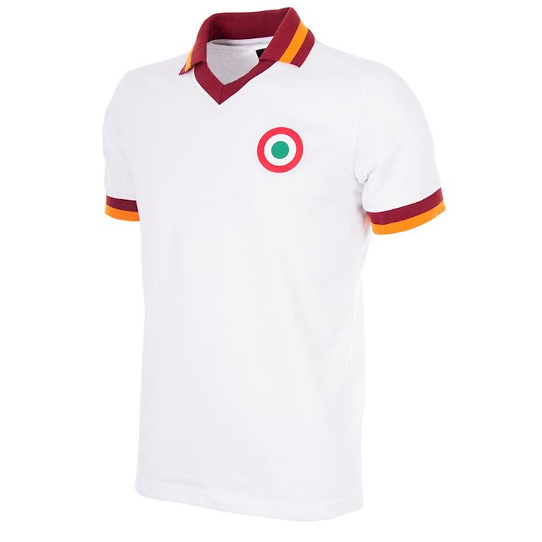 706 | AS Roma Away 1980-81 Maillot de Foot Rétro | 1 | COPA