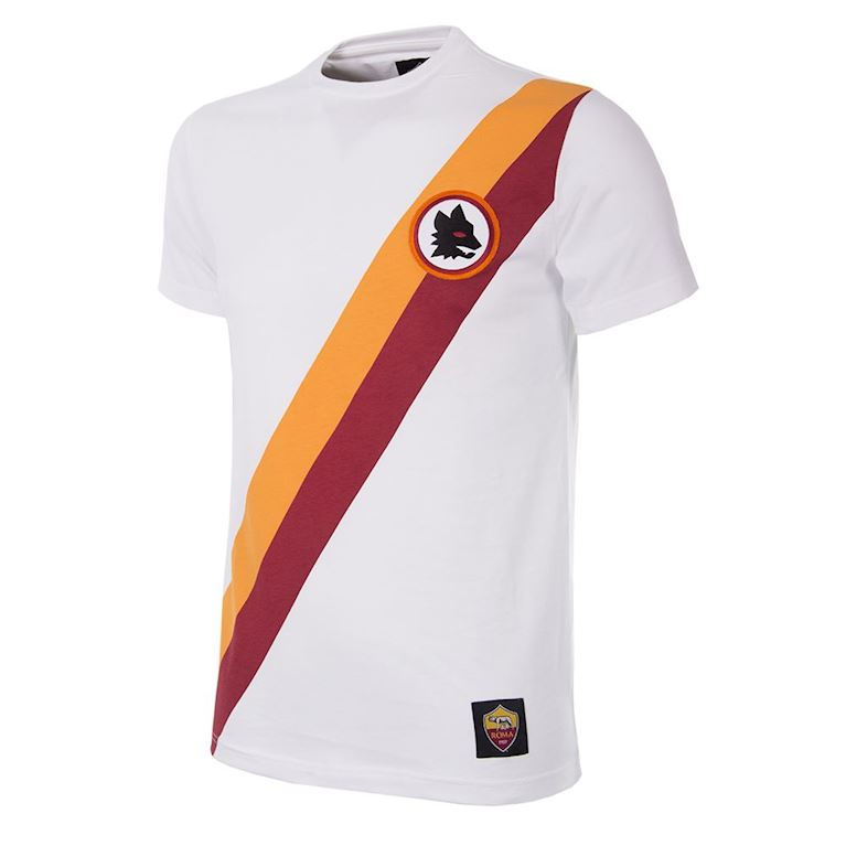 6732 | AS Roma Away Retro T-Shirt | White | 1 | COPA
