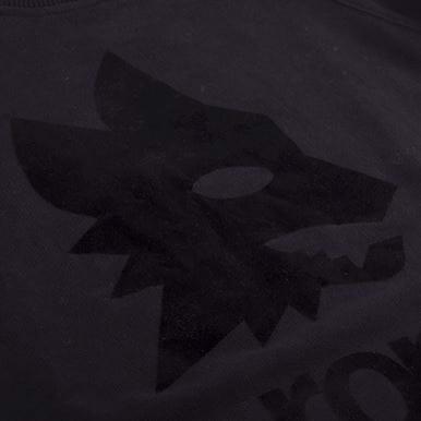6461 | AS Roma Black Out Retro Logo Sweater | 2 | COPA
