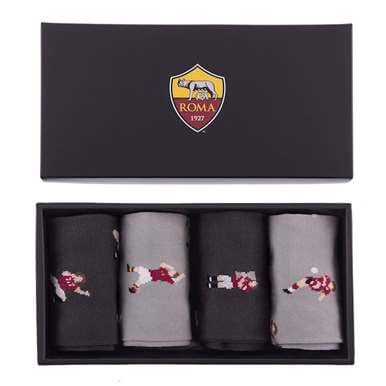 5153 | AS Roma Casual Socks Box Set | 1 | COPA